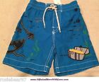 Baby Gap NWT Blue TREASURE CHEST SHIP FISH SHORTS TRUNKS SWIMSUIT 12 18 24 Month