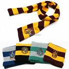 Stylish Gryffindor Hufflepuff Slytherin Knit Scarf Cosplay Costume