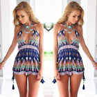 Women Sexy Clubwear V Neck Playsuit Bodycon Party Jumpsuit&Romper Trousers New