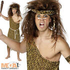 Caveman Tarzan Mens Cave Man Fancy Dress Adult Stag Party Costume Jungle Outfit