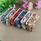 Girl Canvas Owl Hasp Purse Lady Wallet Phone Coin Clutch Bag s0