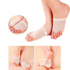 Pair Ballet/Belly Dance 5-Hole Toe Pads Foot Thong Forefoot Pain Relief Socks