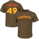 Jake Arrieta Chicago Cubs Majestic 2016 MLB All-Star Game Men's T-Shirt Small on Ebay