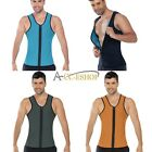 Men Mens Body Shaper Slimming Vest Shirt Tummy Belly Shapewear AU 34 - 50