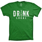 Drink Local St Patricks Day Shirt funny NY local shirts NYC tees