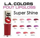 L.A. Colors Pout LipGloss Super Shine U Pick LA Lip Gloss Lipstick Shiny