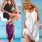 Women's Casual Sleeveless Dresses Evening Party Summer Beach Short Mini Dress CH
