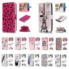 For Samsung Galaxy Note 5 Embossment 9 ID Card Slots Leather Wallet Case Cover