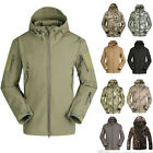 Mens Waterproof Windproof Soft Shell Ski Outdoor Camping Jacket Outerwear Coat