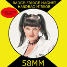 Pauley Perrette-Abby Sciuto -NCIS-58mm BADGE-FRIDGE MAGNET -MIRROR #3S