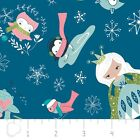 WINTER WONDERLAND ICE PRINCESS BLUE CAMELOT QUILT SEW CRAFT FABRIC *Free Oz Post