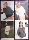 Sirdar Womens Knitting Patterns Sweaters Cardigans - Choose from Drop-down Menu