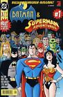 BATMAN & SUPERMAN ADVENTURES (deutsch) #1-8 + Variant DINO-Verlag 1997  in TOP !