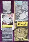 Various Crochet Patterns Table Centres Bedspreads - Choose from Drop-down Menu