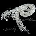 """Wholesale Fashion Silver Necklace Chains 1MM/2MM Snake Chain 16"""",18"""",20"""",22"""",24"""""""