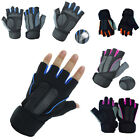 Men's Workout Weight Lifting Gym Gloves Fitness Workout SportS Exercise Training