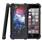 """For Apple iPhone 7 Plus (5.5"""") Grip Bumper Stand Case Big Game Fishing Bass"""