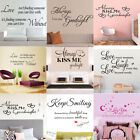Romantic DIY Removable Art Vinyl Wall Sticker Decal Mural Home Room Decor Lot