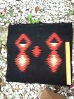 Very Old Navajo Small Colorful Geometric Rug No Reserve