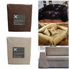 1 to 2 Seater OR 2 to 3 Seater Sofa Couch Cover - Poly Cotton OR Polyester