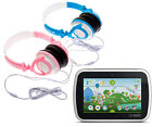 "Folding Travel Kids DJ Style Headphones suitable for Leapfrog Epic 7"" Tablet"