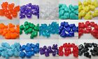 10 Novelty 25mm Cat  Pony beads - Color Choice