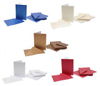 Pack 20 Vide C6 Perlescent Salutations Cartes Et Enveloppes 5 Couleurs Assorties