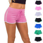 New Summer Pants Women Sports Shorts Gym Workout Waistband Skinny Yoga Short