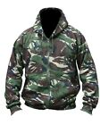 DPM Camoflage Match Zipped Camo Hoodie All Sizes Military / Hunting Warm Jacket