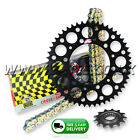 SUZUKI RMZ250 2007-2012 Regina ORN O'Ring Chain And Black Renthal Sprocket Kit
