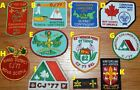 PICK A VINTAGE 70's CJ SCOUT CANADA CANADIAN CAN JAM patch lot bsa boy jamboree