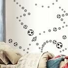 58 Mixed Football Vinyl Stickers House Nursery Window Wall Art Car Decoration