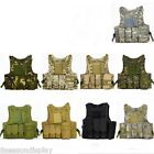 Men's Pro Tactical Battle Hunting Combat Carrier Vest Protective Tank Tops