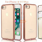 For Apple iPhone 7 / 7 Plus Shockproof Clear Case Ultra Thin Soft TPU Back Cover