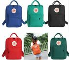 1PC Classic School Backpack Canvas Tote Daypack Waterproof Outdoor Travel Bag