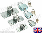 Security Hasps With / Without Laminated Hardened Steel Padlock Gate Shed Garage