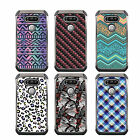 For iPhone 7 DSC HYBRID TPU Hard Case Silver White 7Colors