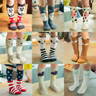 0-6Year Baby Kids Toddlers Girls Knee High Socks Tights Leg Warmer Stockings