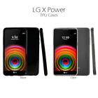 LG X Power, Slim & Flexible Anti-shock Crystal Silicone Protective TPU Case