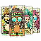 HEAD CASE DESIGNS SUMMER HIPPIES SOFT GEL CASE FOR SONY PHONES 2