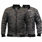 Mens MA1 Jacket Soul Star Harrington Coat Padded Camo Military Bomber Winter New