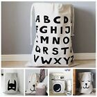Beige Zakka Canvas Storage Bag Toy Organizer Laundry Bag Baby Play Mat XHH8005