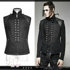 goth visual aristocrat guardian of versailles military waistcoat vest Y711