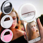 Luxury Selfie Luminous LED Light Up Phone Ring For iPhone 6S 7 Plus Samsung LG