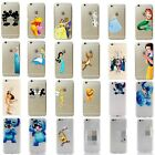 For iPhone 7 8 Plus Disney All Characters Tigger Fairy Tale Clear Cover Case