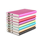 Ultrathin 10400mAh Portable Battery Charger Metal Power Bank More choice