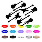 Guitar Rock Music sticker for wall party decorative wall room decor Envelope Cup