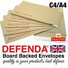 """C4 A4 SIZE 12.75""""x9"""" 324mm x 229mm STRONG BOARD BACKED ENVELOPES Hard Card Back"""