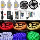 LED Strip light 5630 3528 5050 SMD Bar Lights Super Brightness +Remote+12V Power