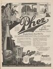 1918 Phez Loganberry Juice Pheasant Northwest Salem OR Kitchen Wall Decor WWI Ad